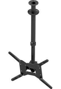Suporte De Teto Para Tv Avatron Slf-4040Ttg-B 32 À 65 Pol Preto