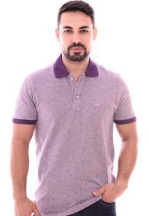 Camiseta Pazan Gola Polo Roxa