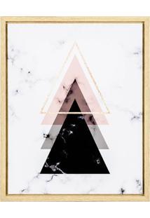 Quadro Decorativa Pyramid Ll Colorido