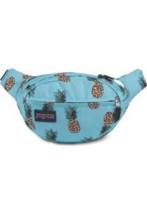 Pochete Shoulder Bag Jansport Fifth Avenue 2,5 Litros - Unissex-Azul Claro