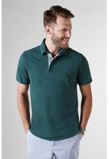 Camisa Polo Pala Interna Reserva Masculina - Masculino-Verde