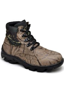 Bota Top Franca Shoes Adventure Masculino - Masculino-Marrom
