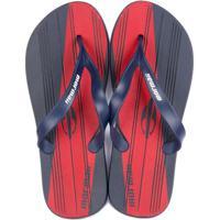 Chinelo Grendene Mormaii Tropical Grafics Ad - Masculino-Azul+Vermelho 5051525d37
