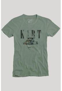 Camiseta Reserva Kart Masculina - Masculino-Verde