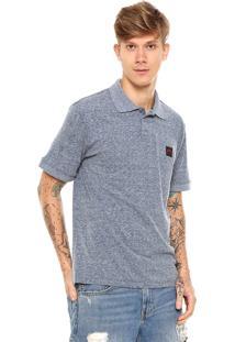 Camisa Polo Rusty Basic Azul