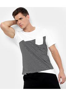 Camiseta Burn Jack Bolso Masculina - Masculino