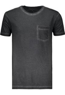 Camiseta Hang Loose Denim Masculina - Masculino