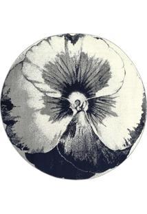Tapete Favorit Floral- Off White & Preto- Ø200Cmtapete Sã£O Carlos