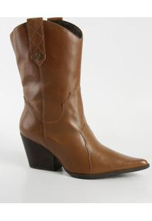 Bota Feminina Country Cano Curto Bottero