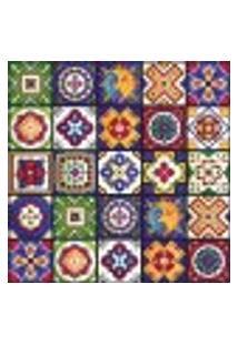 Adesivo De Azulejo Cozinha Mexicano 10X10Cm 50Un