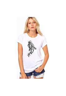 Camiseta Coolest Man In The Moon Branco