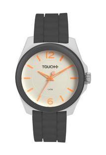 Relógio Touch Transpirar Cinza Tw2036Ksn/8K Tw2036Ksn/8K