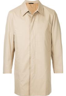 Gieves & Hawkes Trench Coat Slim - Marrom