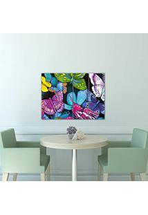 Placa Painel Decorativa Em Mdf Foto Borboletas Kit 4 Placas