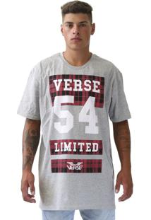 Camiseta Verse Limited Outdoor Xadrez