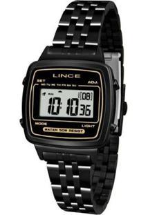 ... Relógio Feminino Lince Retrô Sdph068L Bxpx - Unissex-Preto 7e21735fd4