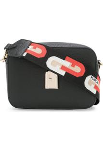 Furla Sleek Camera Bag - Preto