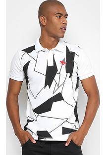 Camisa Polo Rg 518 Piquet Bicolor Full Print Masculina - Masculino