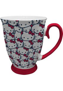 Caneca Rococó Hello Kitty 200Ml - Urban - Branco / Rosa