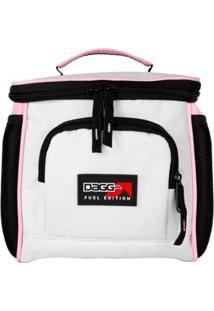 Bolsa Térmica M Fuel Edition Edição Premium Light Rose - Unissex-Rosa