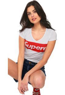 Camiseta Fiveblu Supere Branca