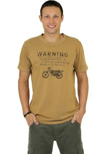Camiseta Dakar Warning Caramelo