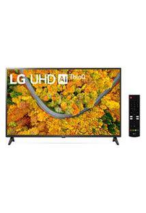 Smart Tv 4K Lg 43 Com Google Assistente, Painel De Controle, Otimizador De Games E Wi-Fi - 43Up7500Psf