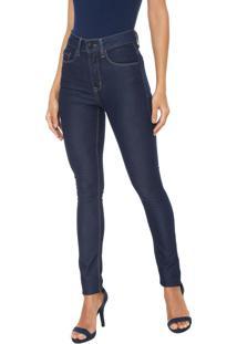 Calça Jeans Calvin Klein Jegging Pespontos Azul