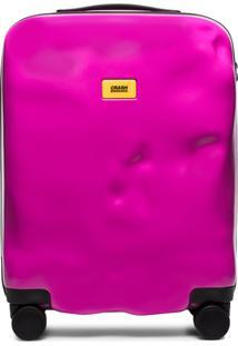 Crash Baggage Mala Icon Rosa Com Rodas Na Base