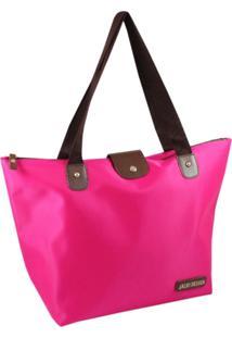 Bolsa Dobrável Tam. G Lisa Jacki Design Essencial I Pink - Kanui