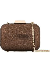 The Chic Initiative Clutch 'Nadia' - Marrom