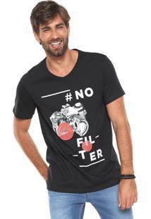 Camiseta Hering No Filter Preta
