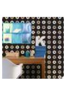 Papel De Parede Autocolante Rolo 0,58 X 5M - Caveiras Flores 260686466
