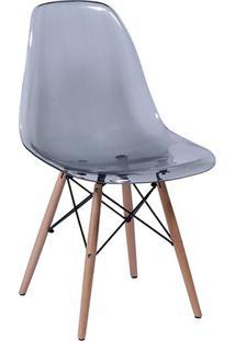 Cadeira Eames Dkr- Fum㪠& Bege- 80,5X46,5X42Cm- Or Design