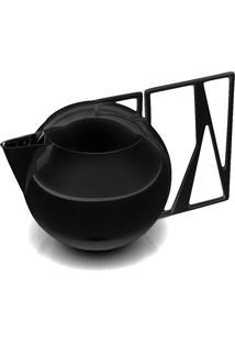 Bule Leite Trama Black Níquel - Riva