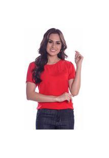Blusa Lisa Comfort Vermelha