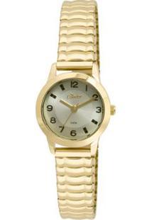 R  159,90. Zattini Relógio Verde Dourado Feminino Condor Mini ... c0d0b77175