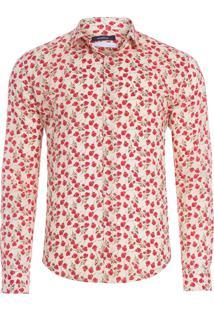Camisa Masculina Edenham - Off White