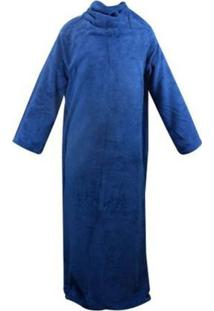 Cobertor Com Mangas Marinho 1,60 X 1,30 M