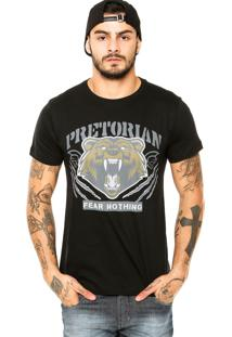 Camiseta Pretorian Fear Nothing Preta
