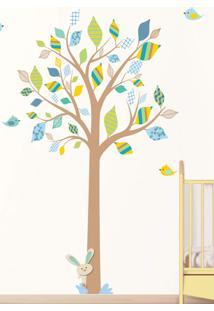Adesivo Decorativo Stixx Árvore Encanto Menino Azul