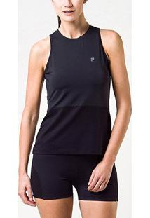 Regata Fila Adjustable Feminina - Feminino-Preto
