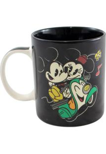 Caneca Magic Mickey E Minnie Unica - Zona Criativa
