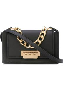 Zac Zac Posen Bolsa Transversal Earthette Accordion Mini - Preto