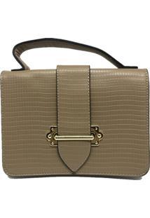 Bolsa Feminina Importada Sys Fashion 8536 Caqui