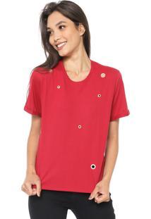 Blusa Cativa Ilhoses Vermelha