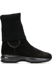 Hogan Ankle Boot Interactive - Preto