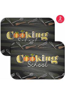Jogo Americano Love Decor Cooking School Chumbo
