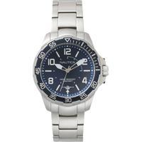 e76260e3c39 Relógio Nautica Masculino Aço - Napplh004