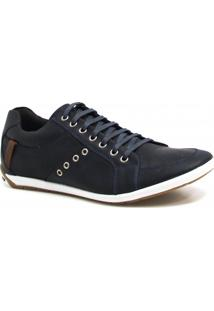 Sapatênis Casual Zariff Shoes Couro